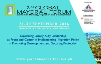 3rd Global Mayoral Forum