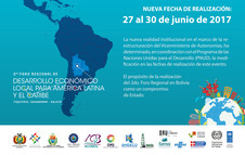Regional Forum of Local economic Development for Latin America and the Caribbean