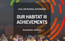 Our Habitat III achievements