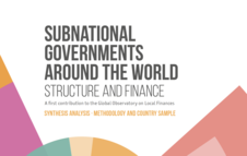 Subnational Governments Around the World Structure and Finance: Synthesis analysis- methodology and country sample