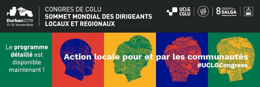 Congress de CGLU Sommet Mondial des Dirigeants Locaux et Regionaux