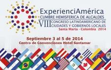 """VIII Congreso Latinoamericano de Ciudades y Gobiernos Locales """"ExperienciAmérica"""""""