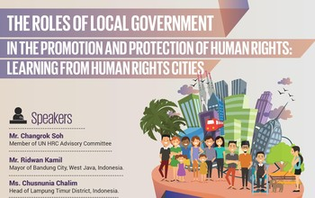 Side-Event: The Roles of Local Government in the Implementation of Human Rights