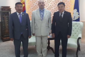 Asian leaders met in Ulaanbaatar at the UN conference