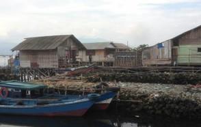 The Indonesian coastal city of Bandar Lampung
