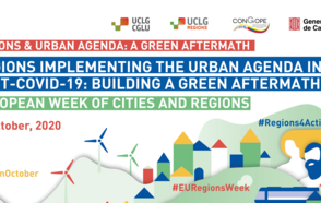 Regions implementing the Urban Agenda in the post-COVID-19:  building a Green Aftermath