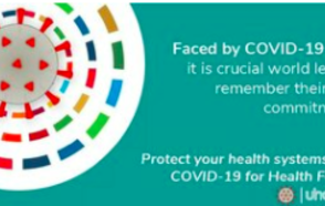 UCLG Secretary General Emilia Saiz, as member of the Universal Healthcare 2030 Movement reminds world leaders of their universal health coverage commitments.