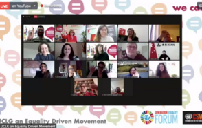 Generation Equality is a shared responsibility: From Local and Regional Governments working from Mexico to Paris