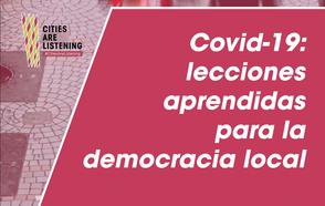 Un panel sobre las lecciones aprendidas para la democracia local se celebró el 14 de diciembre