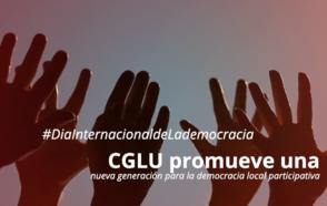 En ocasión del Día Internacional de la Democracia, CGLU promueve una nueva generación para la democracia local participativa