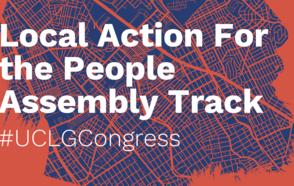 Local Action For The People – UCLG CONGRESS / Assembly Track
