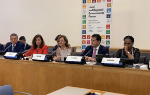 President of UCLG-Eurasia Took the Floor at the UNGA Events, 2019