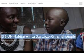 EIB-UN-Habitat Africa Day 2020: Cities for people