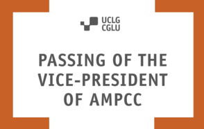 Passing of the Vice-President of AMPCC