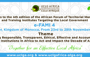 African Forum of Territorial Managers and Training Institutes targeting the Local Level
