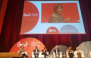 Sesión de aprendizaje de CGLU sobre economía circular y social en el Foro Global de Economía Social en Bilbao
