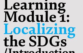 Cuando la localización de los ODS se comparte en un entorno creativo y participativo