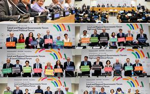 Los gobiernos locales y regionales aportan la perspectiva local al HLPF 2018