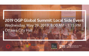 2019 OGP Global Summit: Local Side Event