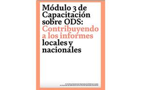 Módulo de aprendizaje 3: Contribuyendo a los informes locales y nacionales