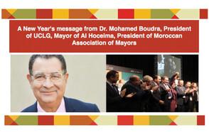 A New Year´s message from the President of UCLG, Mohamed Boudra