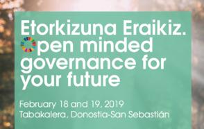Etorkizuna Eraikiz. Open minded governance for your future