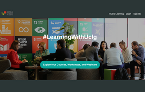 UCLG launches the #LearningWithUclg Online Platform
