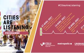 calendrier #CitiesAreListening