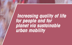 CitiesAreListening: Increasing quality of life for people and for planet via sustainable urban mobility