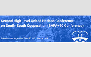 High-level UN Conference on South-South Cooperation