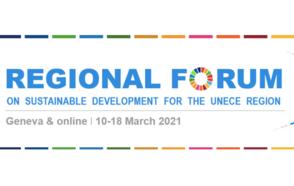 UNECE Regional Forum for Sustainable Development