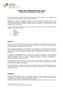 Le-code de Conduite de CGLU