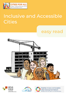 Cover-policy paper Inclusive and Accessible Cities Easy Read