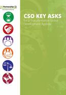 CSO KEY ASKS for a Transformative Development Agenda