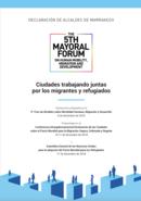 Declaración de Alcaldes de Marrakech: Ciudades trabajando juntas por los migrantes y refugiados