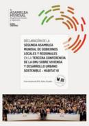 Declaración de la segunda asamblea mundial de gobiernos locales y regionales en - Hábitat III