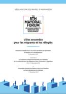 Declaration des maires à Marrakech