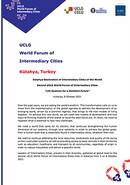 Kütahya Declaration -  UCLG World Forum of Intermediary Cities 2021