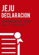 Declaración Final del Congreso de Jeju