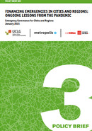 Policy Brief #03 Financing Emergencies in Cities and Regions
