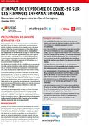 Note d' Analyse  #03 - L'impact de l'épidémie de covid-19 sur les finances infranationales
