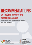 Key recommendations of local and regional Governments towards Habitat III
