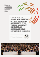 Statement of the 2nd World Assembly of Local and Regional Governments to Habitat III