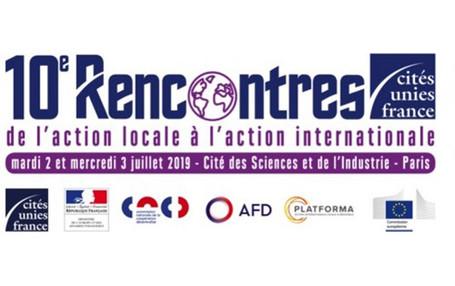 10e édition des Rencontres de l'action internationale des collectivités territoriales