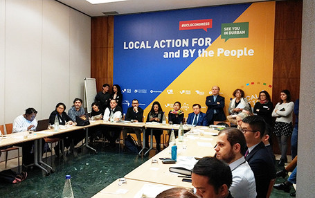 Localising the SDGs: Local governments, associations and networks meet to improve Local and Regional Reports