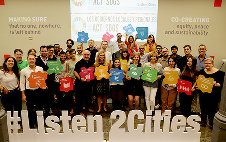"""UCLG supported the #Act4SDGs campaign and encouraged its members to """"act for SDGs""""!"""