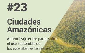 """¡Un nuevo """"Peer learning""""  sobre la región del Amazonas ya está en línea!"""