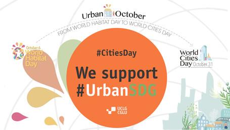 En octobre, CGLU célèbre le mois de l'urbain