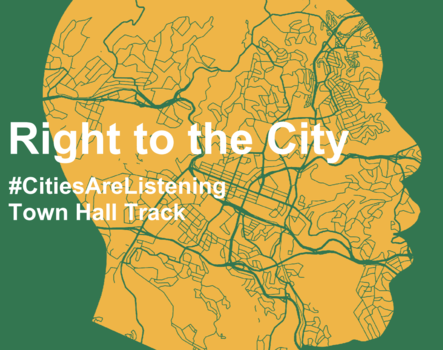 Right to the City – UCLG CONGRESS / Town Hall Track