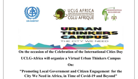 Promoting Local Government and Citizen Engagement for the City We Need in Africa, in Time of Covid-19 and Beyond